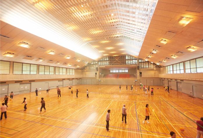 市立総合体育館1