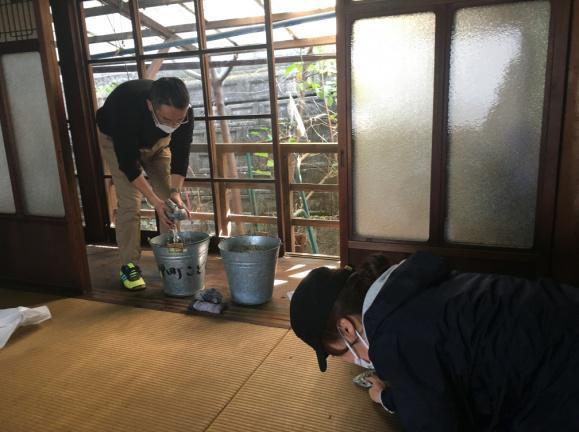 ○多奈川地区での取組(空家の活用)
