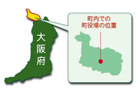 能勢町の位置