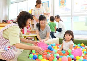 遊びも育児相談もできる地域子育て支援センター!
